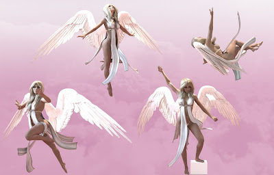 Heaven Sent Poses for Genesis 3 Female