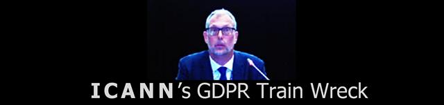 ICANN's GDPR Train Wreck
