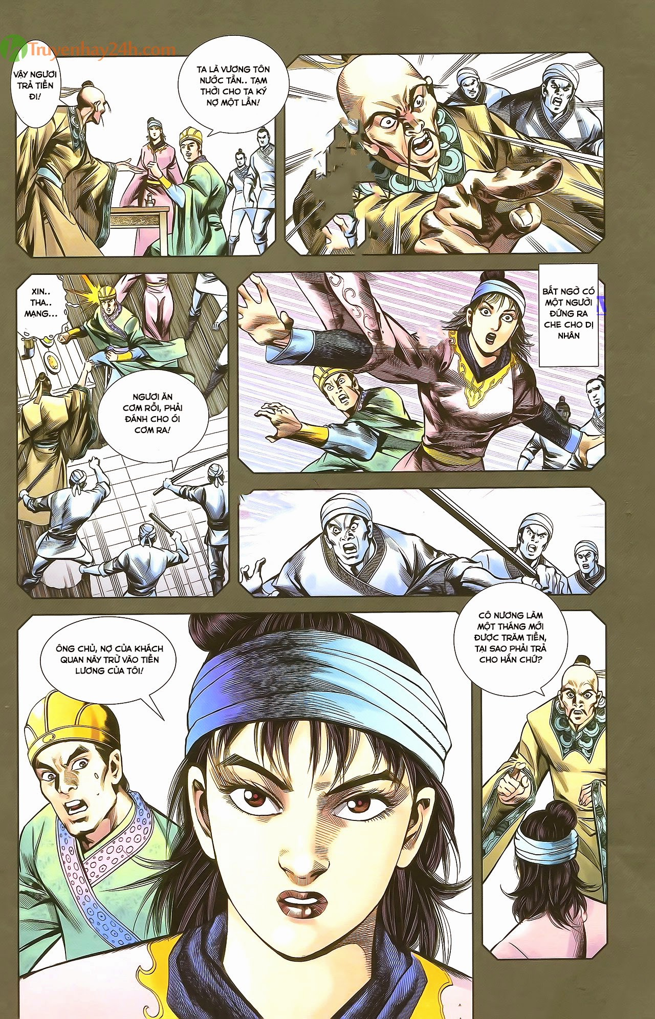 Tần Vương Doanh Chính chapter 29.1 trang 12