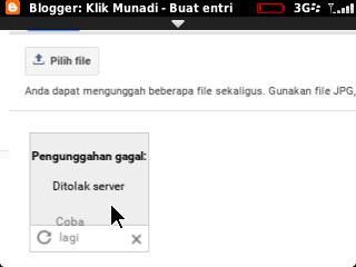 Solusi Tak Bisa Upload Gambar di Blogger Via BlackBerry