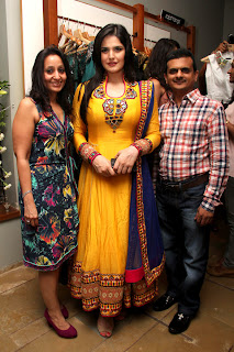 Zarine Khan at FUEL - The Fashion Store collection Launch event