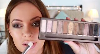kara's glamour blog mila kunis smoky eye makeup tutorial