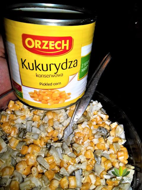 Sałatka z kukurydzy do obiadu