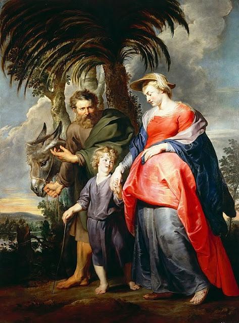 Pieter Paul Rubens - Возвращение Святого Семейства из Египта