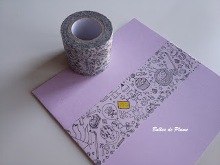 Masking tape à colorier Colouring Activity Rico Design (Creavea)