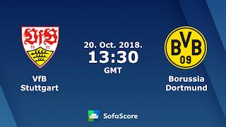 مشاهدة مباراة بوروسيا دورتموند وشتوتجارت بث مباشر بتاريخ 20-10-2018 الدوري الالماني