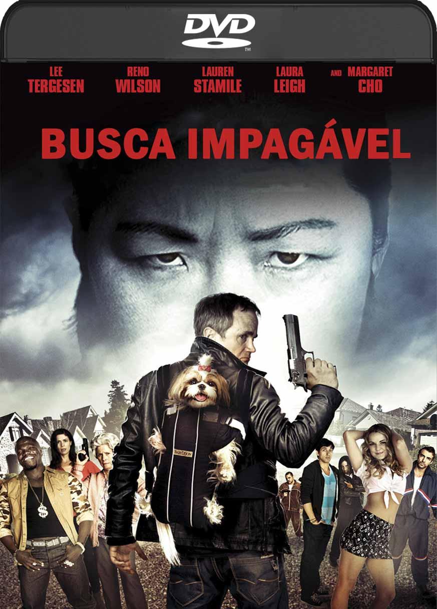 Busca Impagavel (2016) DVD-R Autorado