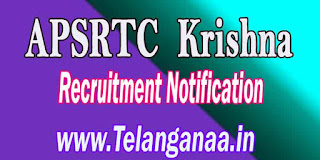 APSRTC Krishna Driver Recruitment Notification 2016