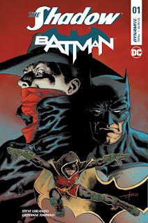 Dynamite & DC Comics Shadow Batman Crossover Comic