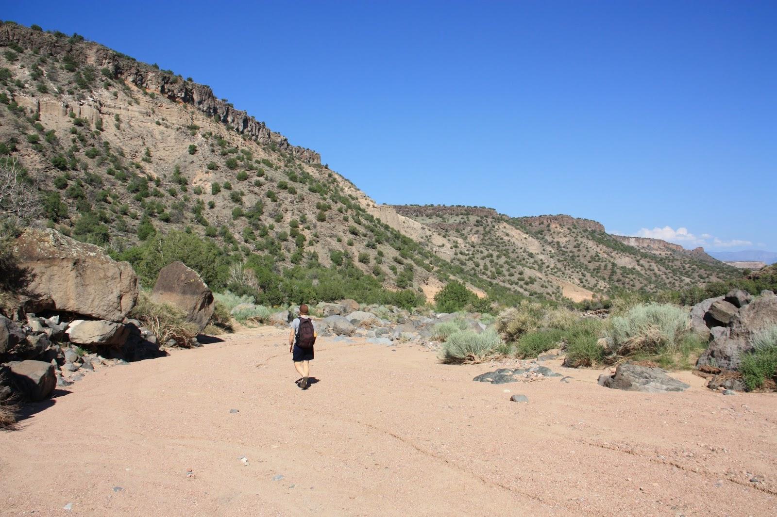 A Is For Adventure Diablo Canyon Hike Santa Fe