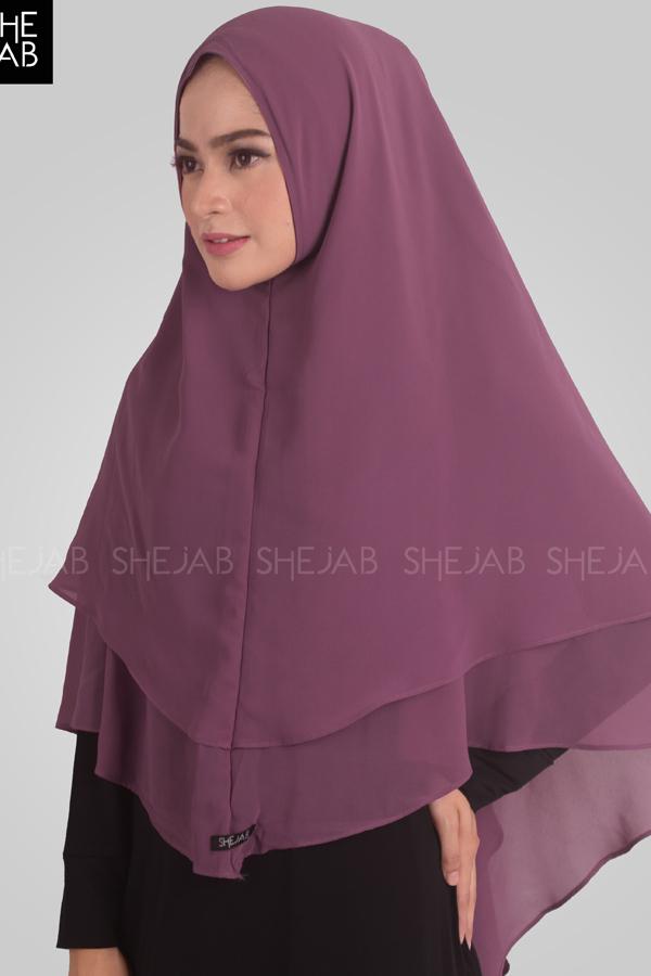 Syria Inara Syar'i Purple