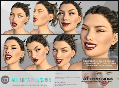 i13 All Life's Pleasures Expressions for the Genesis 3 Female