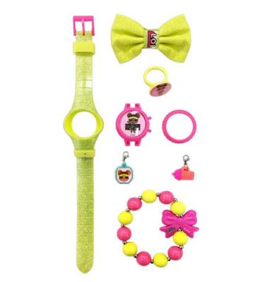 Зеленые наручные часы L.O.L. Surprise