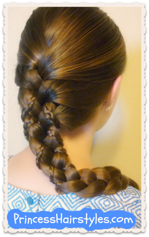 Awe Inspiring Micro Braid Lattice Wrap Hairstyle Hairstyles For Girls Short Hairstyles For Black Women Fulllsitofus