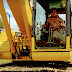 Bangun Sarana Olahraga, Kades Laringgi Operasikan Excavator