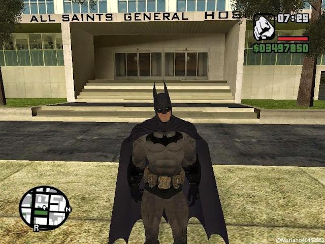 GTA Batman Game Screenshots
