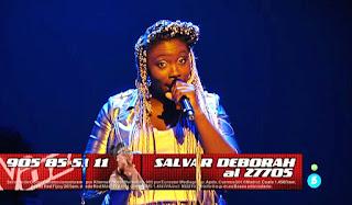 Deborah Ayo canta If I Were A Boy de Beyoncé directos la voz