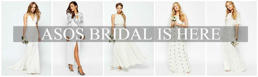 Asos Bridal Is Here