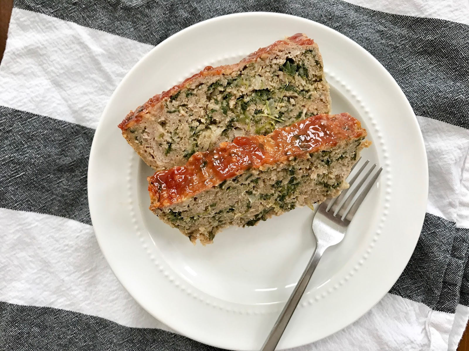 turkey & spinach meatloaf