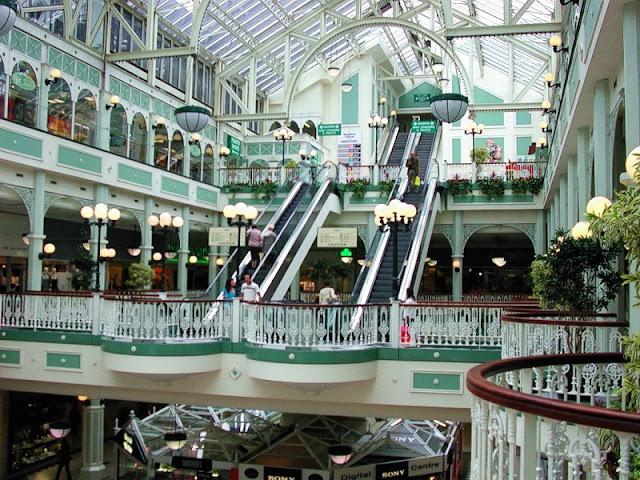 Lojas e atrações no Shopping Stephen's Green