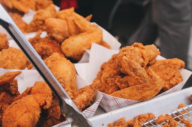 Ayam Goreng dengan Kulit