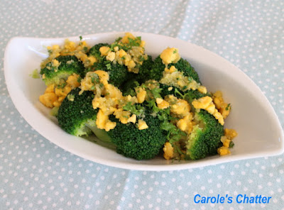 Carole's Chatter: Broccoli Polonaise