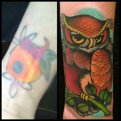 cubrir un tatuaje con otro