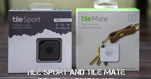 Never lose your things with Tile : Tile Pro Series Sport and Mate Review + Giveawy