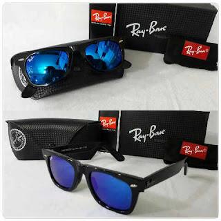Kacamata Rayban Wayfarer Premium Warna Biru - Jual Frame Kacamata ... 071bd2cdca