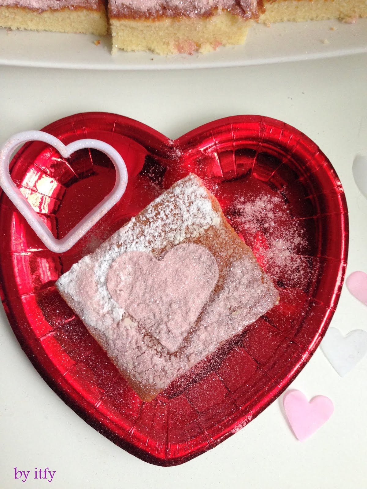 I Test For You Sonntagskuchen Hot Milk Cake Im Valentinstag Look