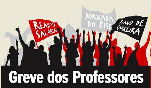 Professores das escolas estaduais aderem a greve e farão mobilização nesta quinta (28)