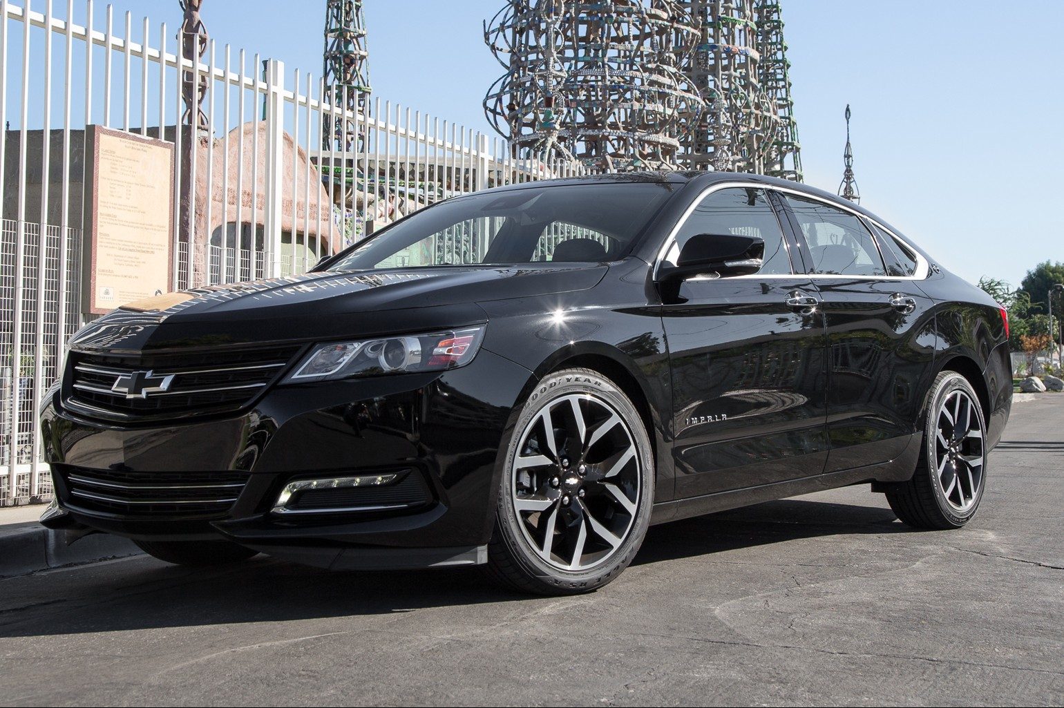 General motors prides itself as one of the most stylish car manufacturer and it would not release the 2016 impala