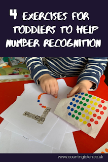 4 exercises for toddler to help number recognition from simple sticker exercises to follow on ideas