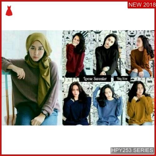 HPY253S119 Sweater Loose Anak Boxi Murah BMGShop