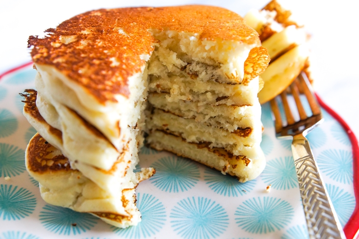 buttermilk pancake stack