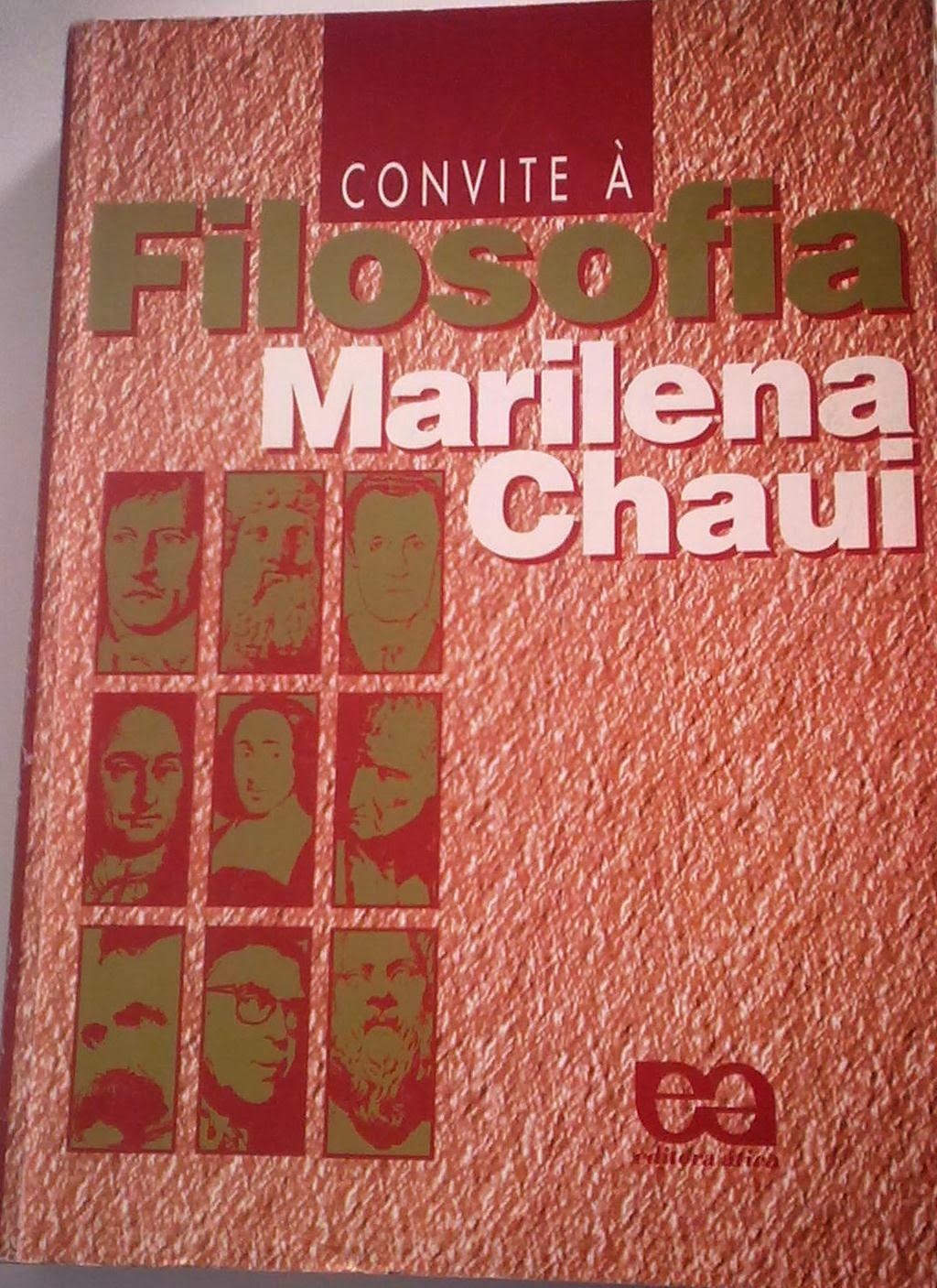 Polymatus Daniel Brito Convite à Filosofia Marilena Chauí