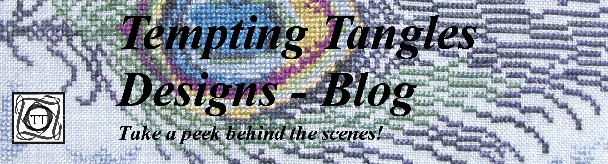Tempting Tangles Blog - Peek Behind the Scenes
