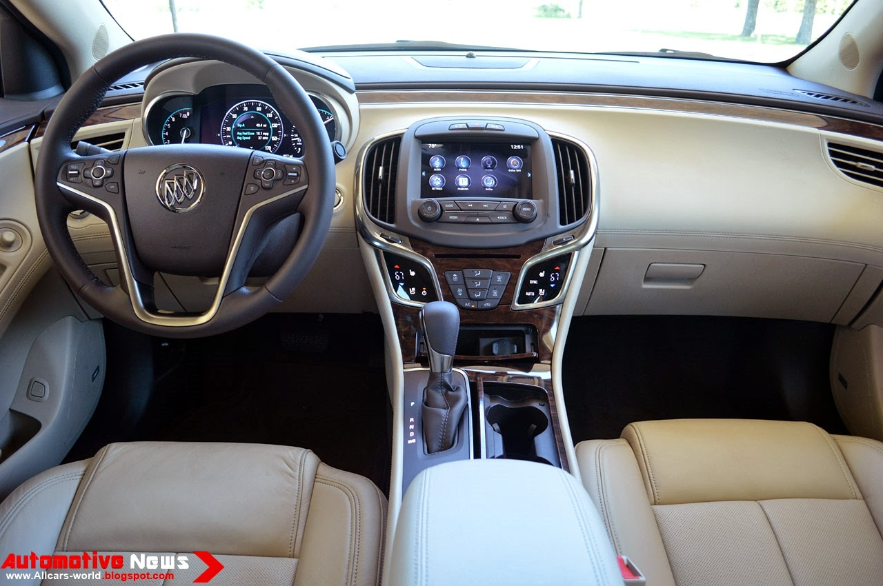 Automotive News: 2014 Buick LaCrosse