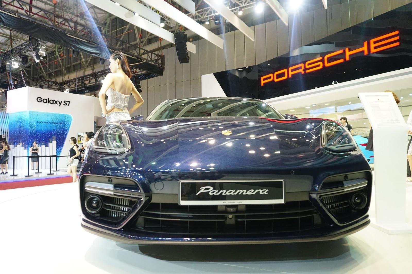 Đầu Panamera mới đậm chất Porsche, sắc sảo, và có nét nguy hiểm