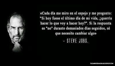 Frases de Steve Jobs. +TuCambioEsAhora