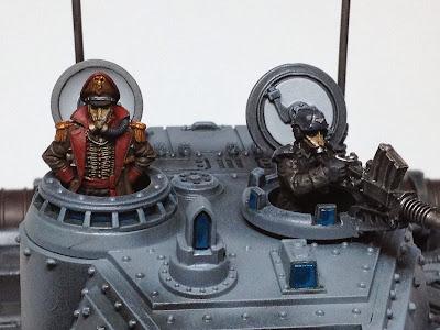 Death Korps of Krieg Baneblade Crew WIP