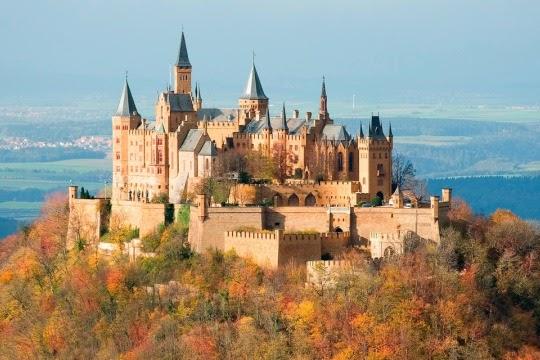 Hohenzollern Castle, Baden-Württemberg