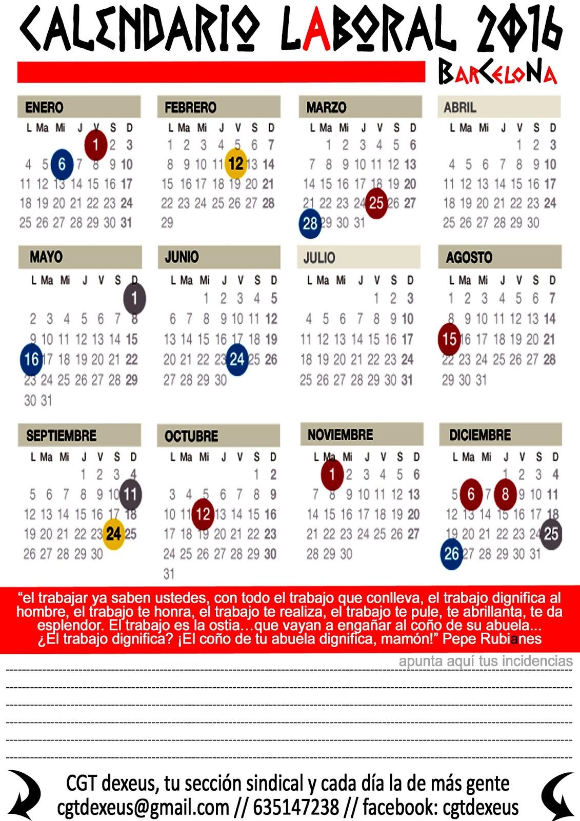 Seg Social Calendario Laboral.Sentencia Alfonso Vs Seguridad Social Permiso Parental Cgt