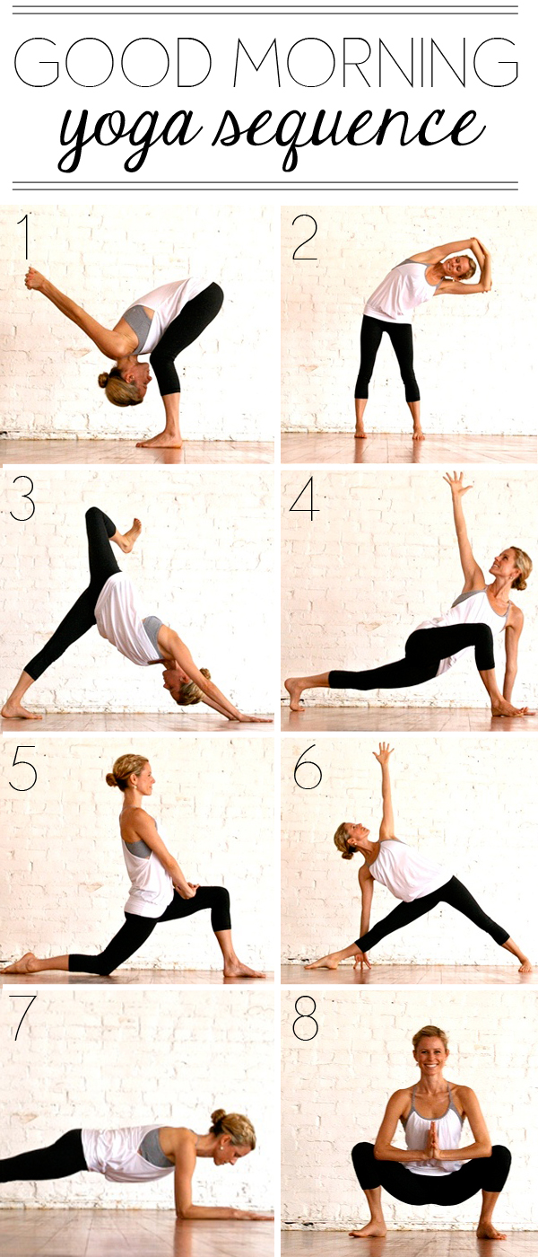 Yoga Routine In The Morning Health Tips In Pics