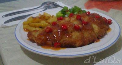 Chicken Cordon Bleu ala Rika (1)