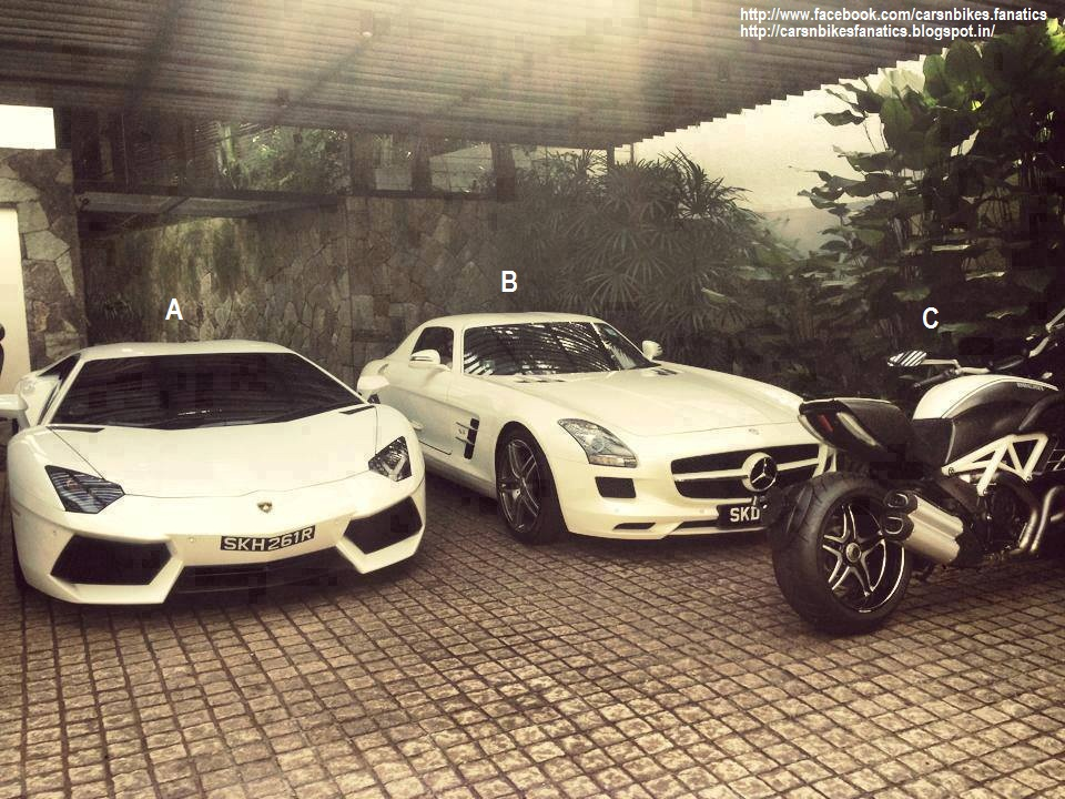 Car Bike Fanatics Lamborghini Aventador Mercedes Benz Sls Amg
