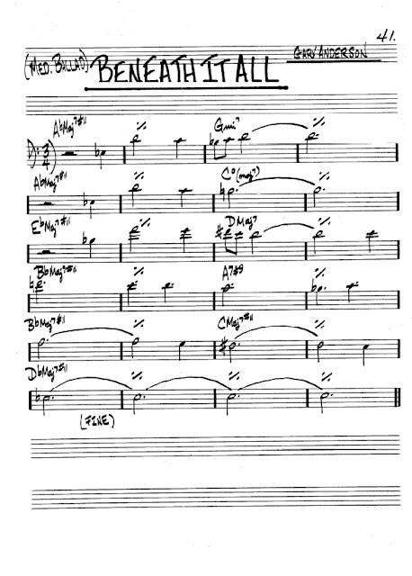 Partitura Violonchelo Gary Anderson