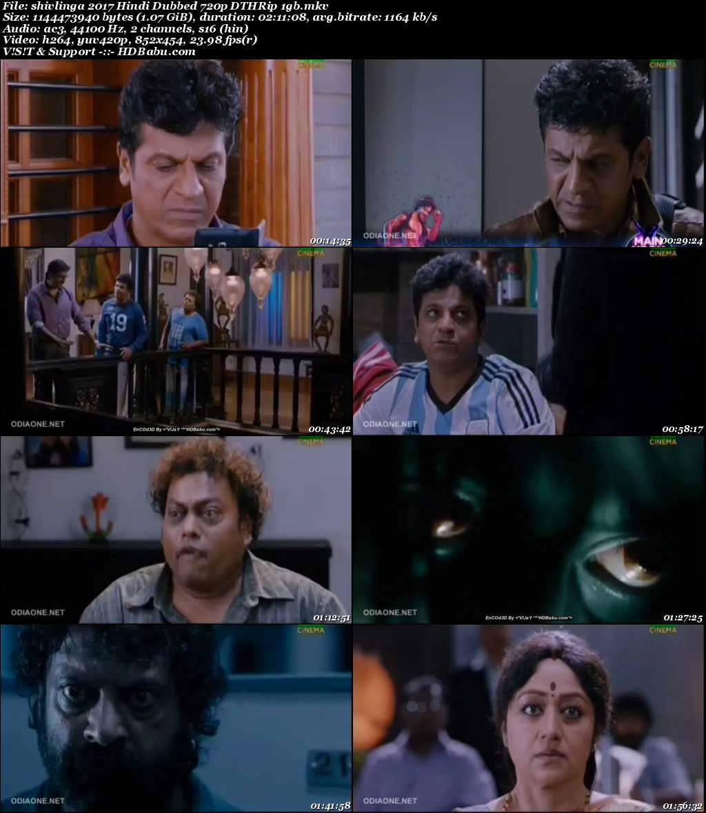 Shivlinga (2017) Hindi Dubbed 720p HDRip Full Movie Download, HShivlinga Hindi Dubbed full hd Movie Download free torrent download, watch online
