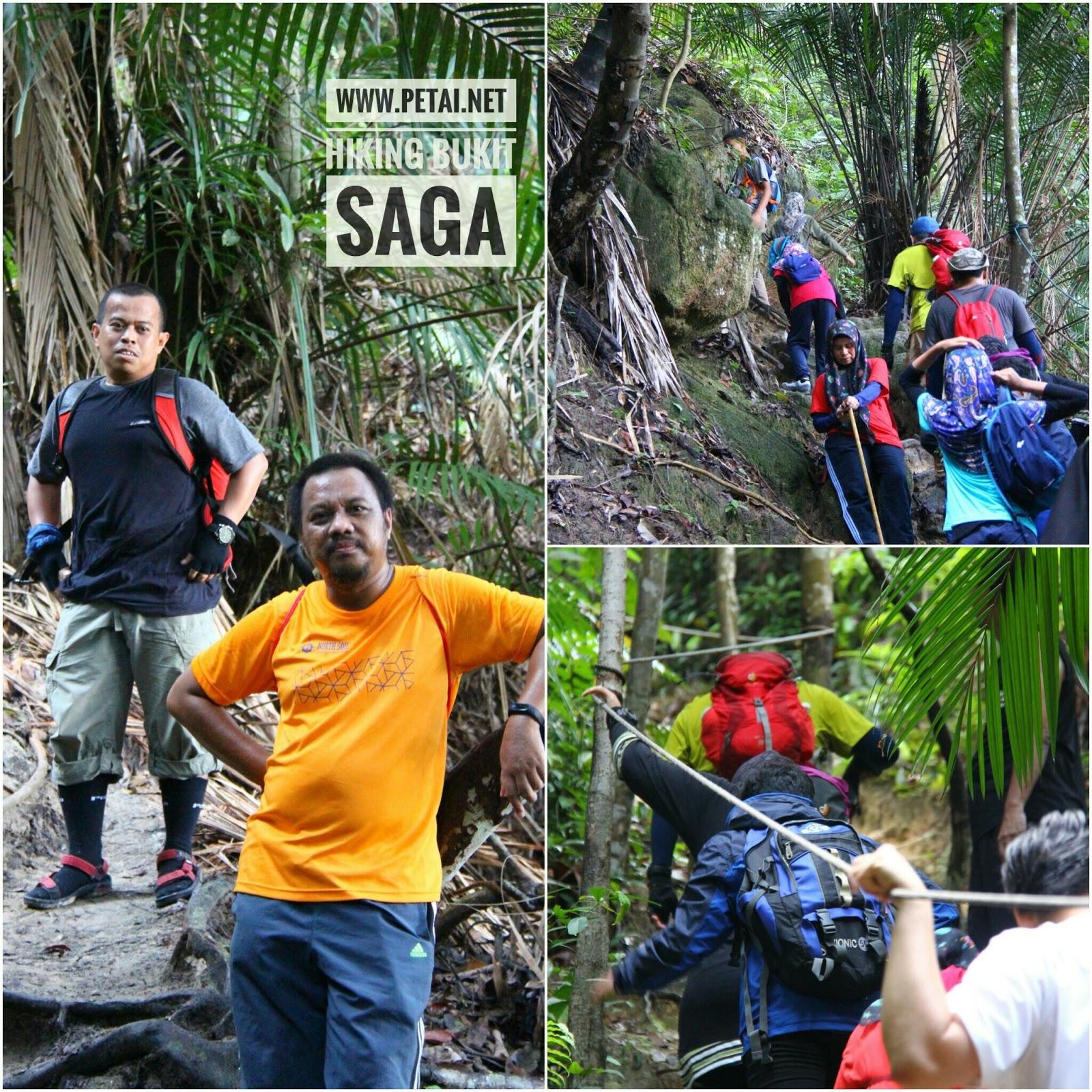 Hiking Bukit Saga