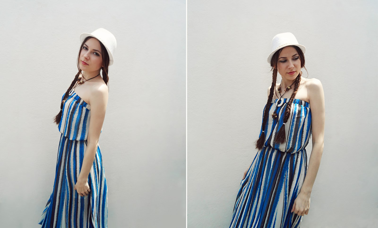 long maxi dress shopbop marine fashion trend outfit pictures white hat woman liz breygel pictures